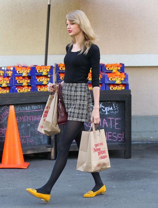 Swift vs. Jenner - pojedynek na nogi (FOTO)