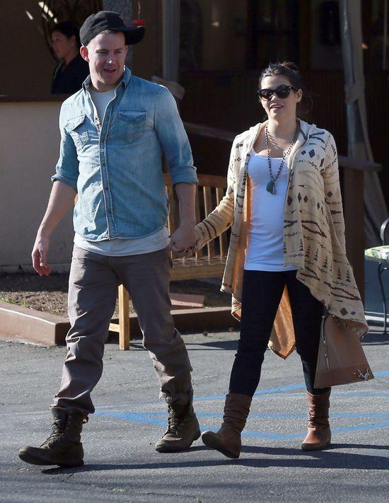 Jenna Dewan: Channing by� dla mnie wyrozumia�y podczas ci��y
