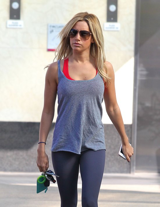Ashley Tisdale dba o kondycj� (FOTO)