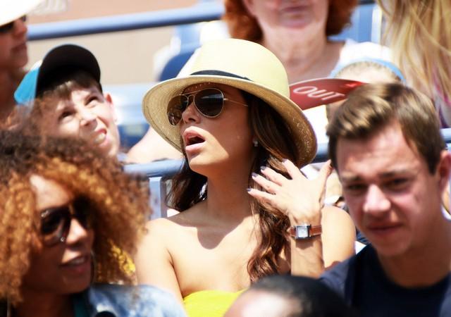 Eva Longoria sama na US Open (FOTO)
