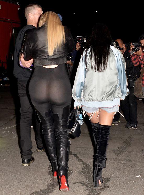 Khloe Kardashian ŚWIECIŁA tyłkiem na koncercie Beyonce!