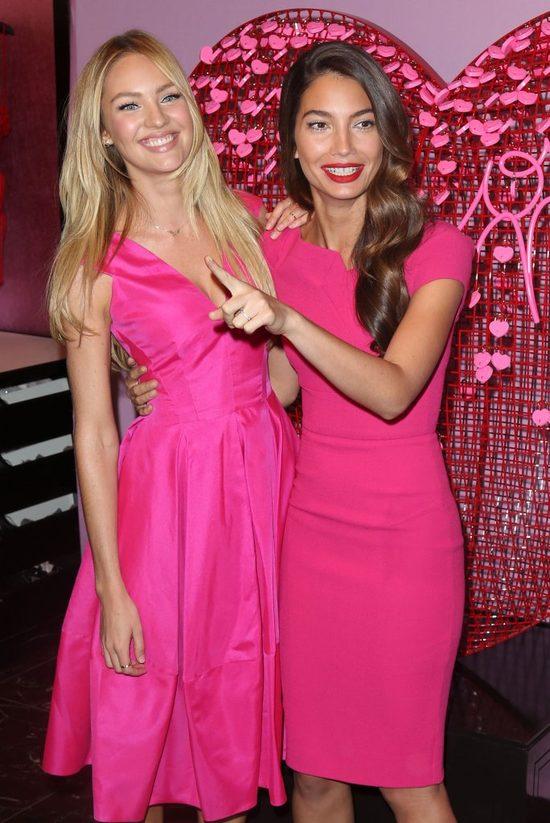 Candice Swanepoel i Lily Aldridge jak dwie Barbie (FOTO)