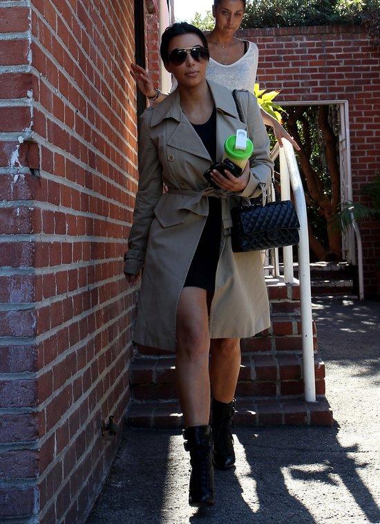 Niedba�y szyk Kim Kardashian (FOTO)