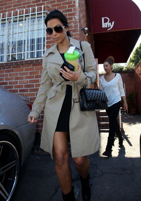 Niedbały szyk Kim Kardashian (FOTO)