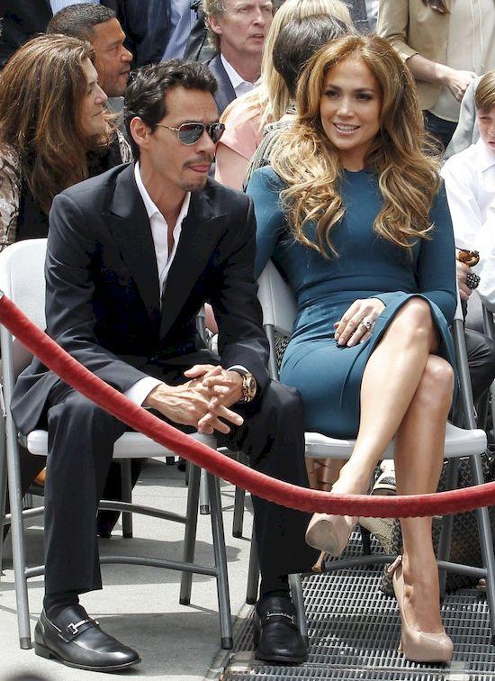 Jennifer Lopez wyst�pi�a na scenie ze swoim... by�ym m�em! (VIDEO)