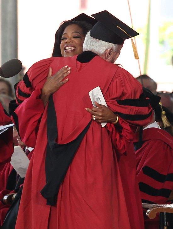 Oprah Winfrey wyróżniona przez Harvard (FOTO)