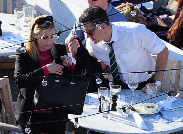 Reese Witherspoon z mężem na drinku (FOTO)
