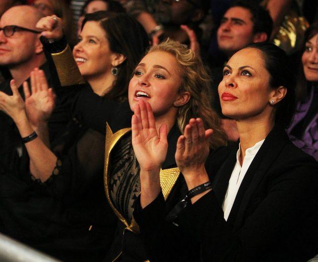 Hayden Panettiere gorąco dopingowała Kliczkę (FOTO)