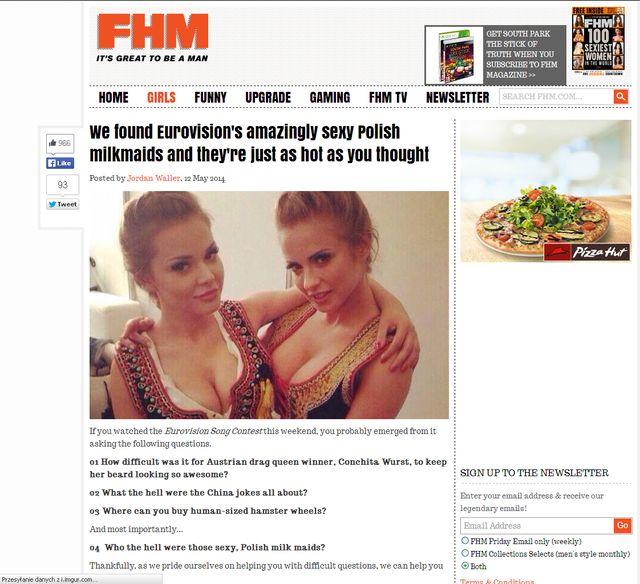 Ciupa i Tumala zainteresowały zagraniczne magazyny dla panów