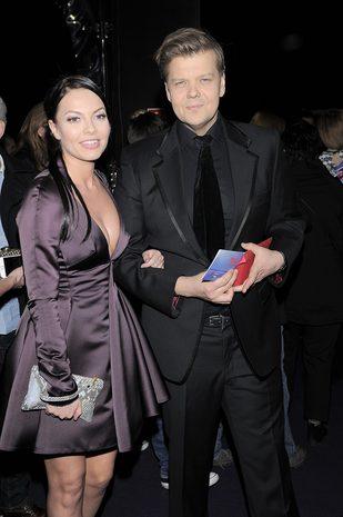 Odeta Moro i Jagna Błażejewska czuwają przy Figurskim