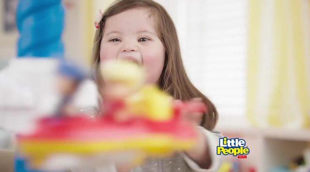 Marka pokazała w reklamie dziewczynkę z zespołem Downa?