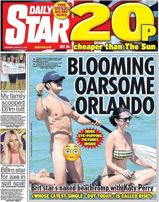Orlando Bloom pisał do... Mirandy Kerr w sprawie nagich zdjęć