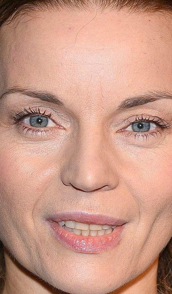 Tak twarz Małgorzaty Foremniak wygląda z bardzo bliska