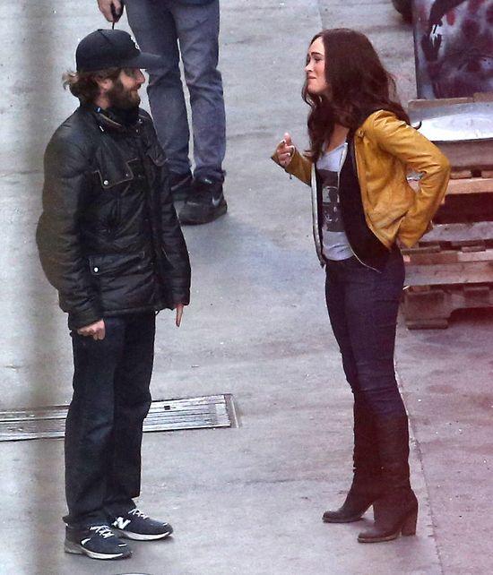 Megan Fox ju� odzyska�a figur� po ci��y?! (FOTO)