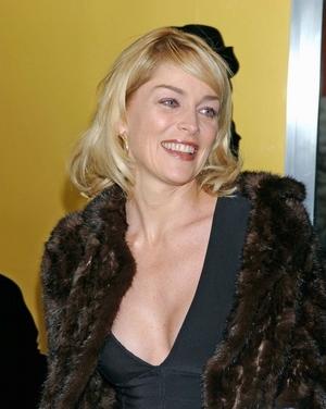 Sharon Stone bez stanika