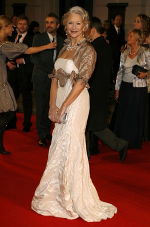 Helen Mirren obraziła królową