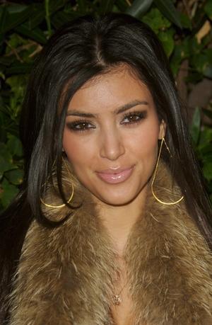 Sexy fitness Kim Kardashian