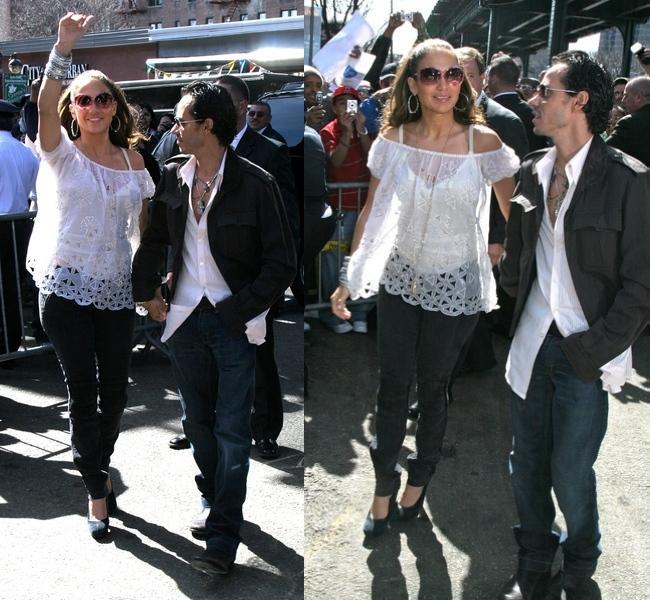Jennifer Lopez w Bronxie