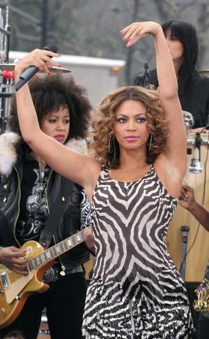 Beyonce w zeberce
