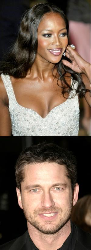 Naomi Campbell i Gerard Butler