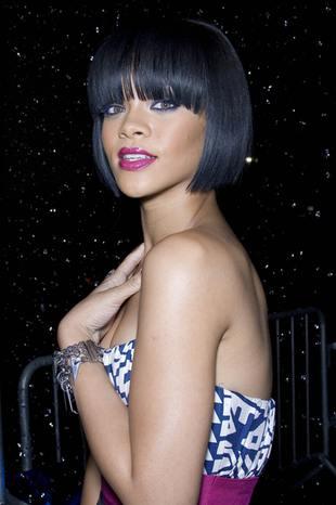 Rihanna w deszczu