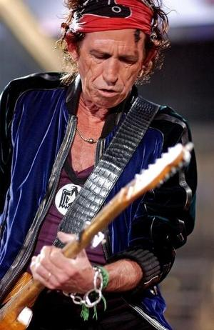 Keith Richards znowu mówi