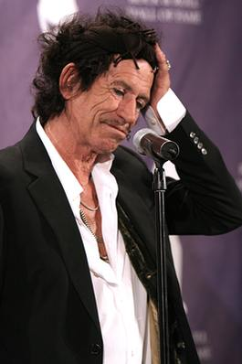 Keith Richards! Znowu?