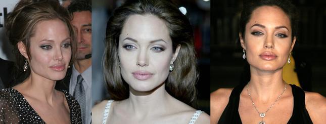 Angelina Jolie kiedyś