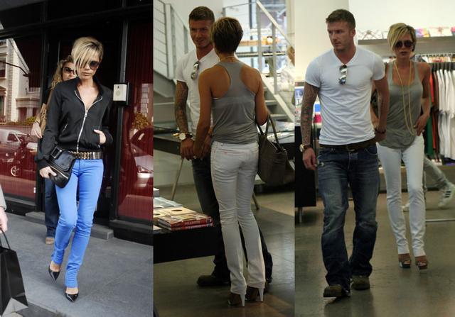 Victoria Beckham w nowych spodniach