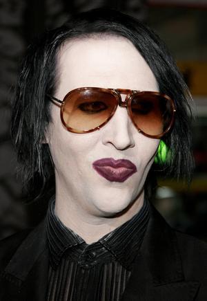 Marilyn Manson bez makijażu