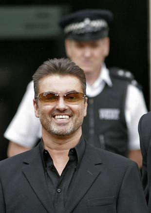 George Michael w sądzie
