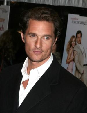 Matthew McConaughey pokazuje syna