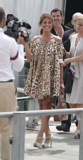 Eva Mendes w Cannes