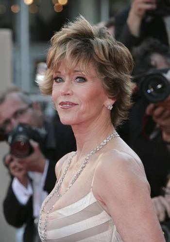 Jane Fonda w Cannes