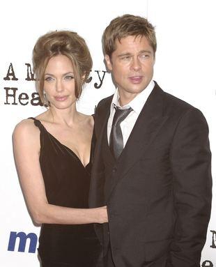 Angelina boi się o Brada