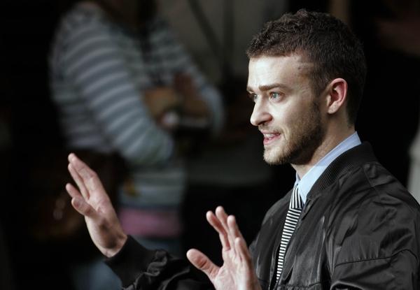 Timberlake nagusieńki w domu