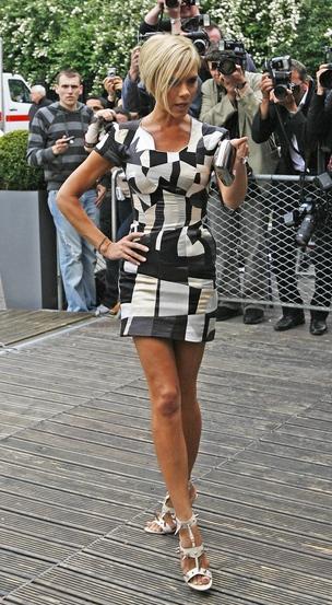 Victoria Beckham i myśląca garderoba