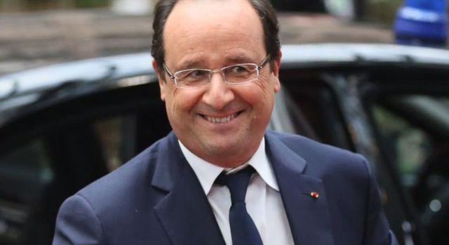 Prezydent Francji, Francois Holland ma romans z aktorką?