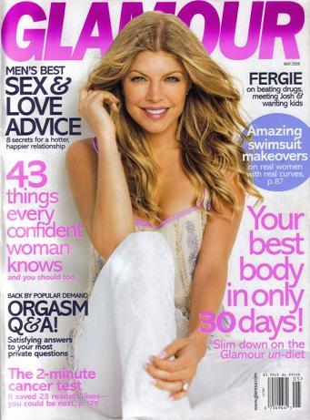 Fergie dla Glamour