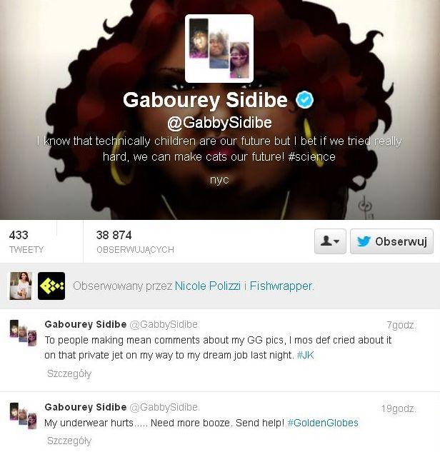 Gabourey Sidibe zamknęła usta hejterom