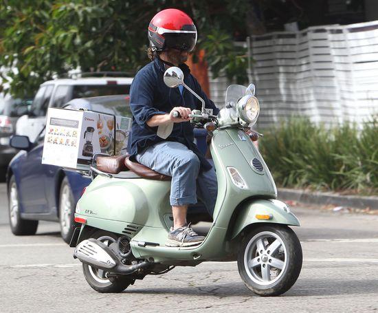 Zach Galifianakis i jego blender express (FOTO)