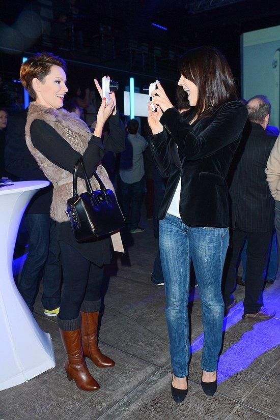Celebryci na promocji aparatu fotograficznego (FOTO)