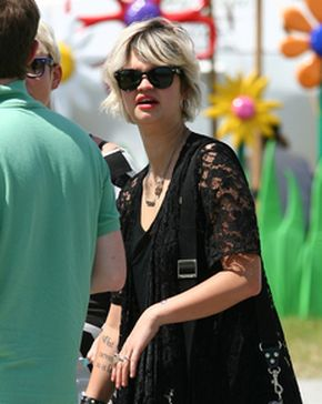 Pixie Geldof na festiwalu Glastonbury (FOTO)