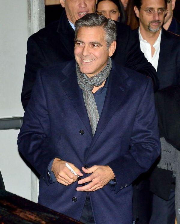 George Clooney ZARĘCZYŁ SIĘ!