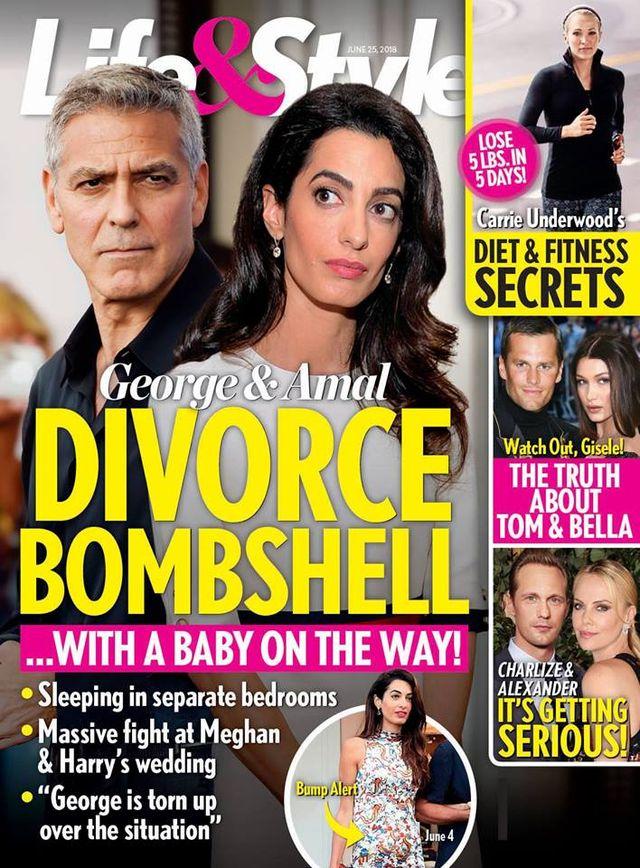 George Clooney i Amal ROZWODZĄ SIĘ?