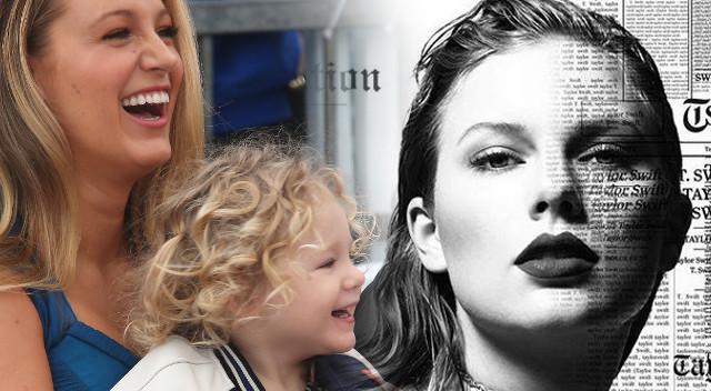 Co ma wspólnego Taylor Swift z… córką Blake Lively i Ryana Reynoldsa?