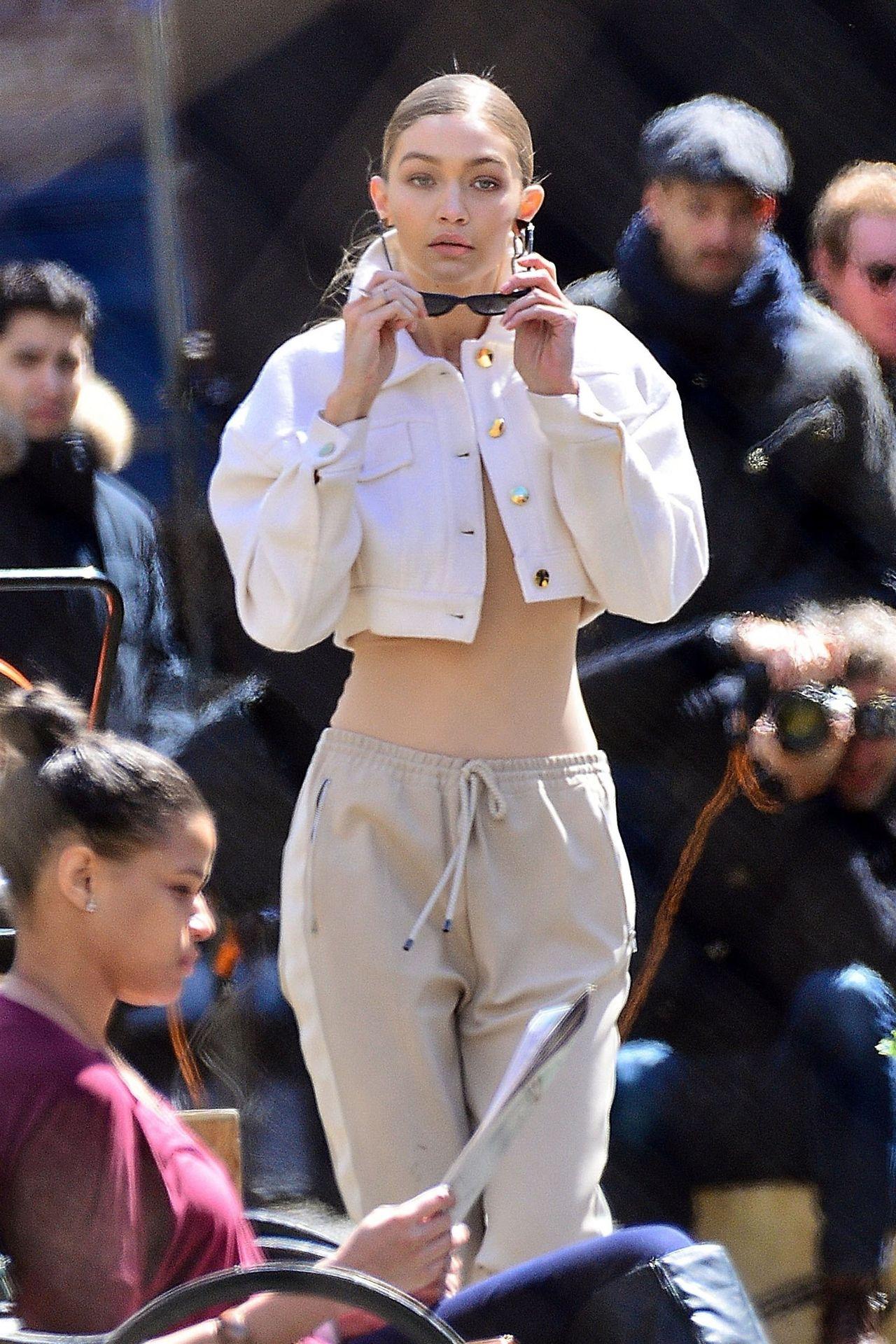 Gigi Hadid zupełnie straciła kobiece kształty (ZDJĘCIA)