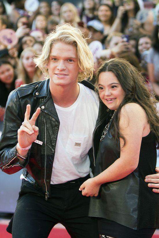 Niezręczne spotkanie Gigi Hadid i Cody'ego Simpsona
