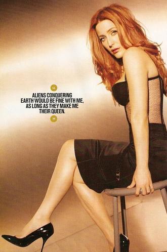 Gillian Anderson dla magazynu Maxim