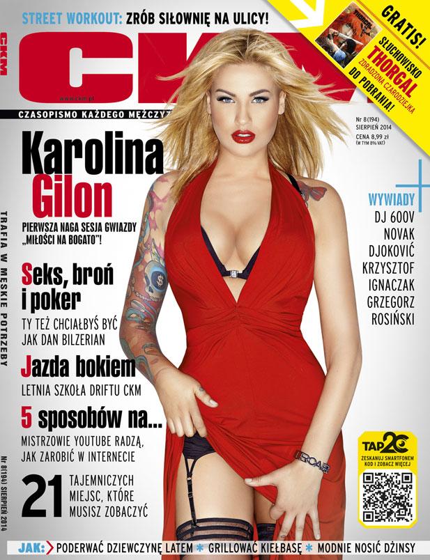 Karolina Gilon jest zbyt seksowna na modelkę?